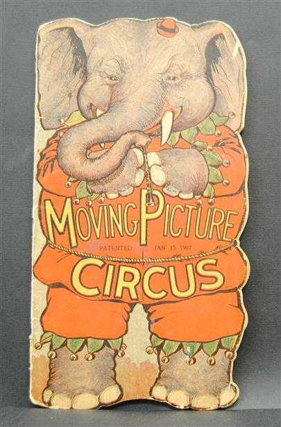 Moving picture Circus. Greatest show on earth. An up-to-date program of Big Circus Acts